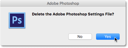 How to Reset Photoshop Preferences - All Versions