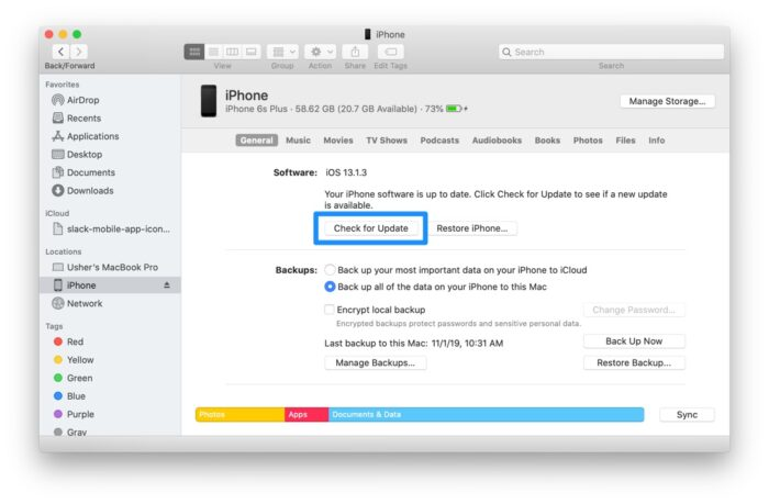 How to fix iPhone iTunes Restore Error?