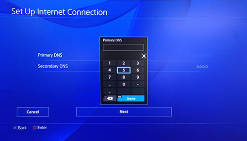 best DNS servers for PS4 2020