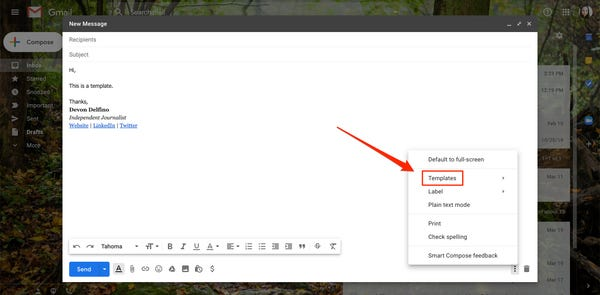 How to create email templates for Gmail?