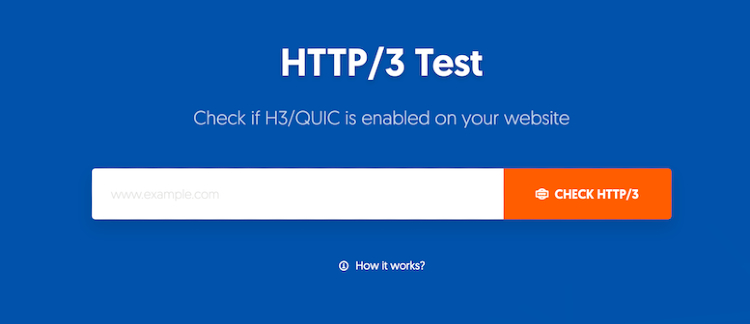 How to Test if a Website supports HTTP/3 & QUIC?