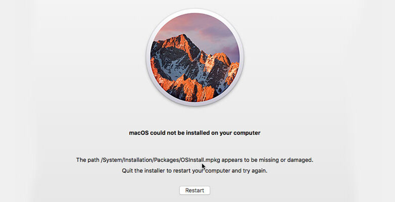 How to Fix macOS Could Not Be Installed Error?